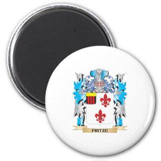 Escudo de armas de Fritze - escudo de la familia Iman De Frigorífico