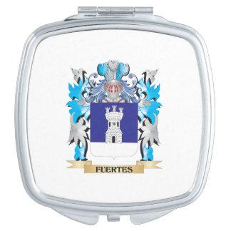 Escudo de armas de Fuertes - escudo de la familia Espejos De Maquillaje