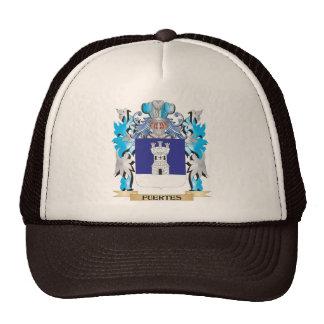 Escudo de armas de Fuertes - escudo de la familia Gorros Bordados