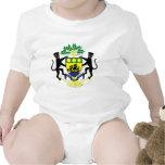 Escudo de armas de Gabón Traje De Bebé