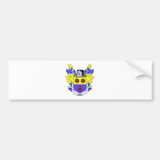 Escudo de armas de GAIL Pegatina De Parachoque