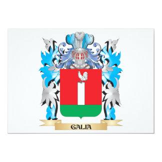 Escudo de armas de Galia - escudo de la familia Invitacion Personalizada