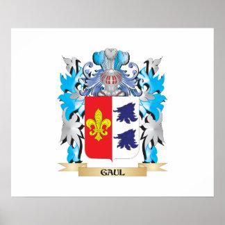 Escudo de armas de Galia - escudo de la familia Impresiones
