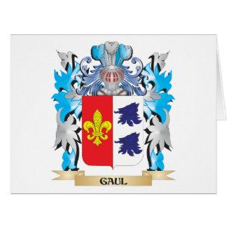 Escudo de armas de Galia - escudo de la familia Tarjetón