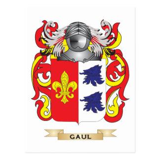 Escudo de armas de Galia (escudo de la familia) Postales