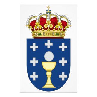 Escudo de armas de Galicia (España) Papeleria