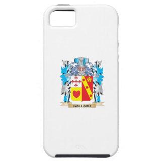 Escudo de armas de Gallard - escudo de la familia iPhone 5 Protector