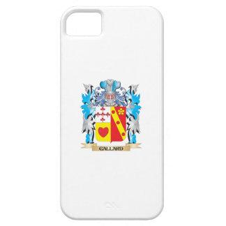 Escudo de armas de Gallard - escudo de la familia iPhone 5 Carcasas