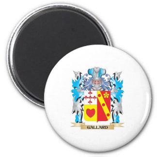 Escudo de armas de Gallard - escudo de la familia Imán De Frigorífico