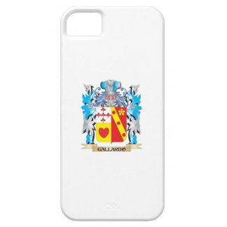 Escudo de armas de Gallardo - escudo de la familia iPhone 5 Cárcasas