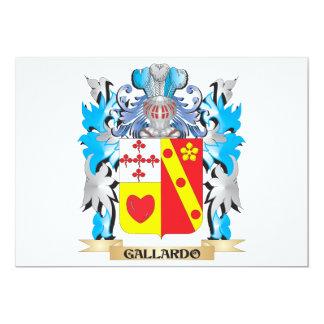 Escudo de armas de Gallardo - escudo de la familia Comunicados Personalizados