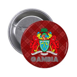 Escudo de armas de Gambia Pins