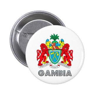 Escudo de armas de Gambia Pin