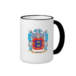Escudo de armas de Gaona - escudo de la familia Taza De Café