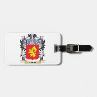 Escudo de armas de Garay - escudo de la familia Etiquetas Para Maletas