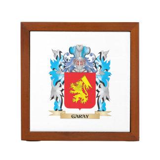 Escudo de armas de Garay - escudo de la familia Organizador De Escritorio