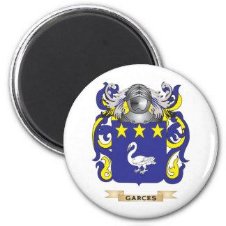 Escudo de armas de Garces (escudo de la familia) Iman