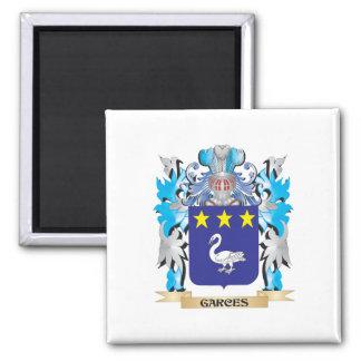 Escudo de armas de Garces - escudo de la familia Imanes De Nevera