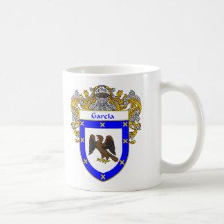 Escudo de armas de García (cubierto) Tazas