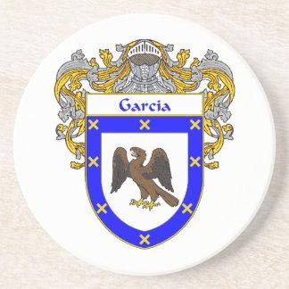 Escudo de armas de García/escudo de la familia Posavasos Personalizados