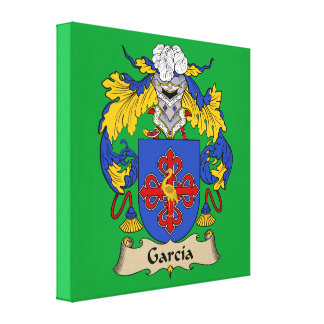 Escudo de armas de García Impresion En Lona