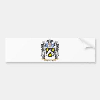 Escudo de armas de Gardiner - escudo de la familia Pegatina Para Auto