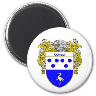 Escudo de armas de Garza (cubierto) Iman De Nevera