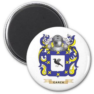 Escudo de armas de Garza (escudo de la familia) Iman De Nevera
