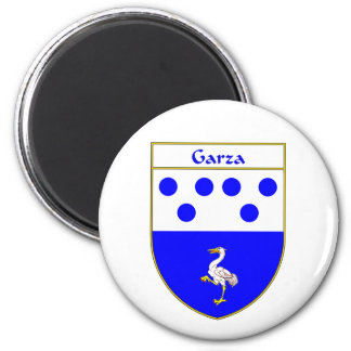 Escudo de armas de Garza/escudo de la familia Iman De Nevera