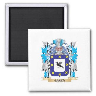 Escudo de armas de Garza - escudo de la familia Imán De Frigorifico
