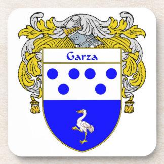 Escudo de armas de Garza/escudo de la familia Posavasos