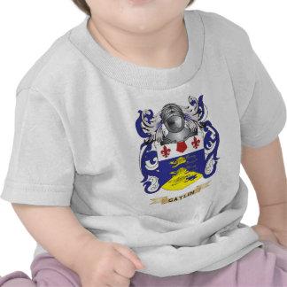 Escudo de armas de Gatlin escudo de la familia Camisetas