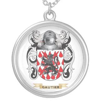 Escudo de armas de Gautier escudo de la familia Colgantes Personalizados