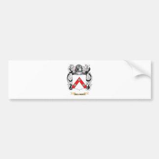 Escudo de armas de Gelabert (escudo de la familia) Etiqueta De Parachoque