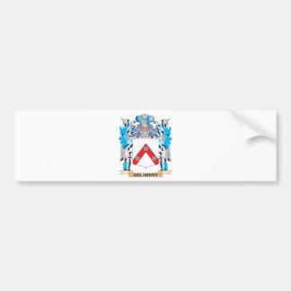 Escudo de armas de Gelabert - escudo de la familia Pegatina Para Coche