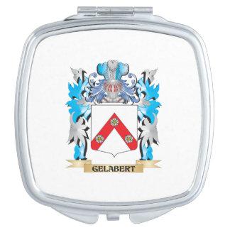 Escudo de armas de Gelabert - escudo de la familia Espejo Maquillaje
