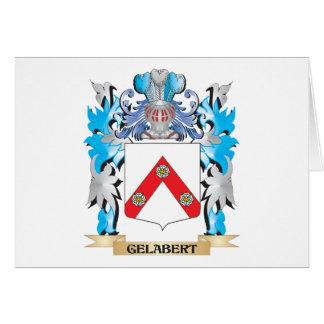 Escudo de armas de Gelabert - escudo de la familia Tarjeta Pequeña
