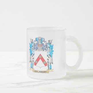 Escudo de armas de Gelabert - escudo de la familia Taza Cristal Mate