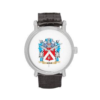 Escudo de armas de Gelb - escudo de la familia Relojes De Pulsera