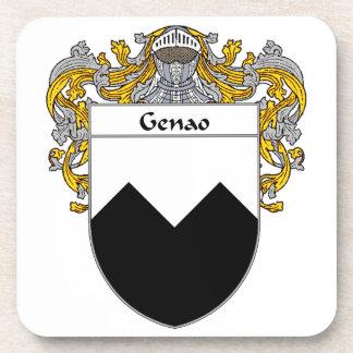 Escudo de armas de Genao/escudo de la familia Posavaso