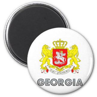 Escudo de armas de Georgia Iman De Frigorífico