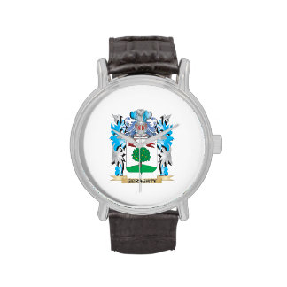 Escudo de armas de Geraghty - escudo de la familia Relojes