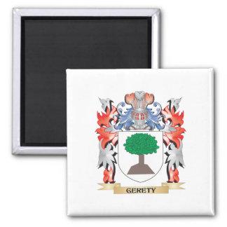 Escudo de armas de Gere - escudo de la familia Imán Cuadrado