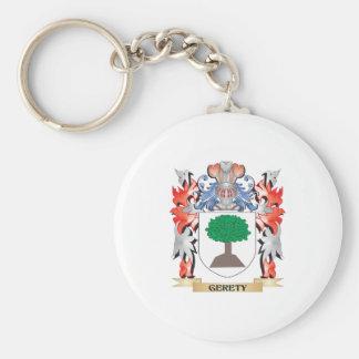 Escudo de armas de Gere - escudo de la familia Llavero Redondo Tipo Pin