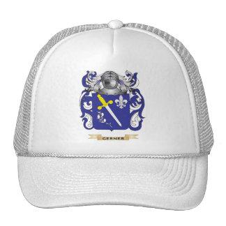 Escudo de armas de Gerner (escudo de la familia) Gorros