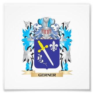 Escudo de armas de Gerner - escudo de la familia Arte Fotografico