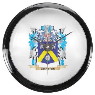 Escudo de armas de Gervais - escudo de la familia Relojes Acuario