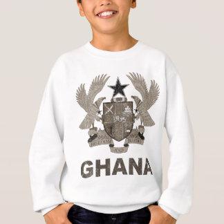 Escudo de armas de Ghana del vintage Sudadera