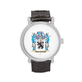 Escudo de armas de Gherardini - escudo de la Relojes