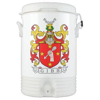 Escudo de armas de Gibb (escocés) Vaso Enfriador Igloo